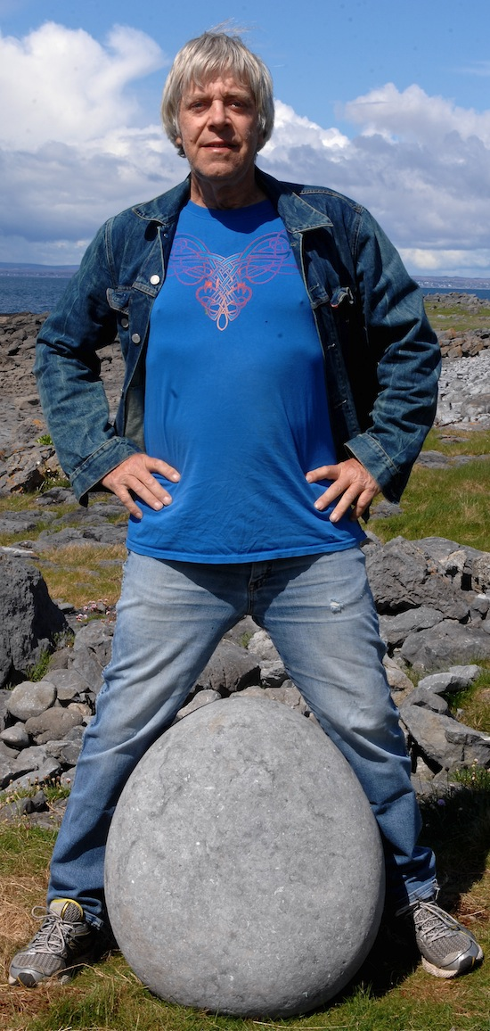 Jan Ploeg en de enorme steen