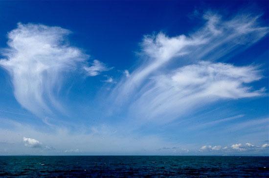 Prachtige lucht